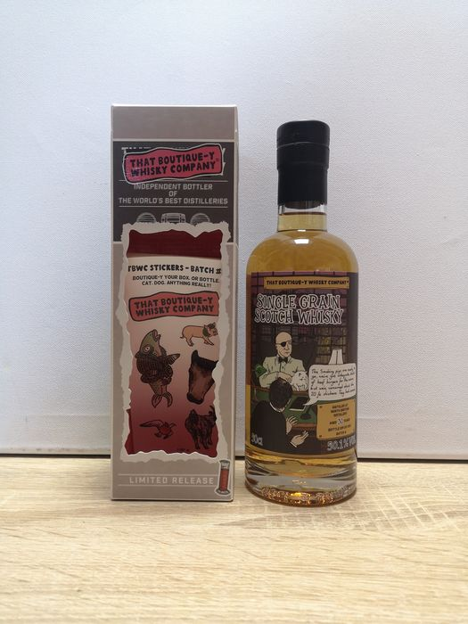North British 30 years old Batch 6 - That Boutique-y Whisky Company - b. 2018 - 500 ml