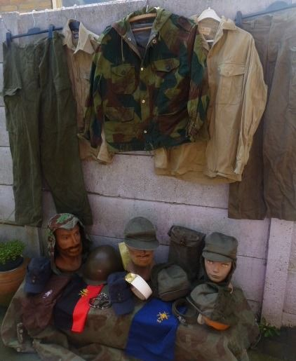 France, Germany, Belgium and the Netherlands - Lot various militaria