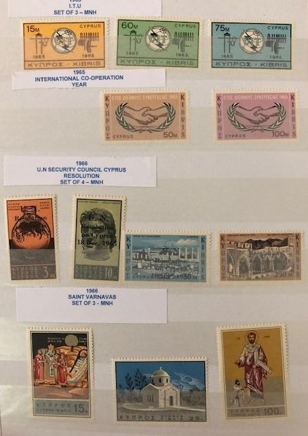 Zypern 1963/1990 - Collection with 80 full sets