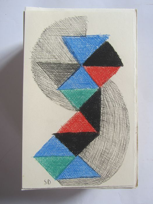 ‎‎Apollinaire Guillaume / Sonia Delaunay - Œuvres complètes. - 1966