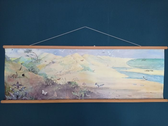 """Bellissimo poster scolastico Summer by the Sea """"van Hulst"""" - Lino"""