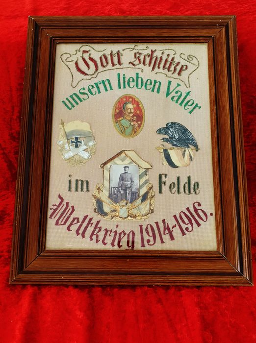 Authentic souvenir from WWI WWI - Germany - Early 20th century