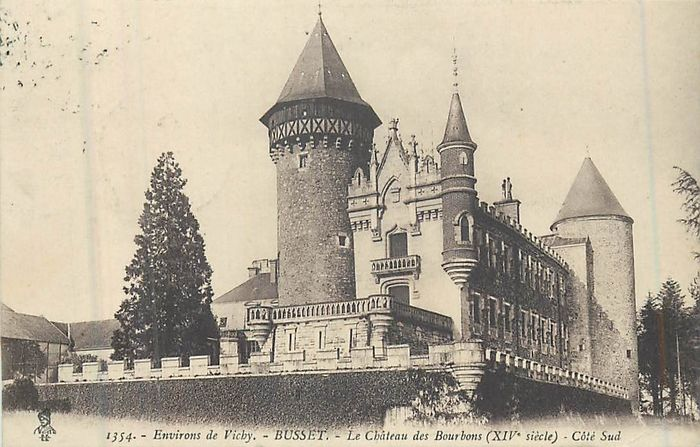 France - Department 03 - Allier - Postcards (Collection of 80) - 1940-1950