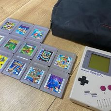 1 Nintendo Gameboy Classic - Console with games (13)
