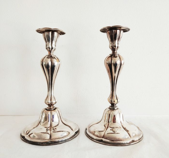 Pair of candlesticks - Early 20th century