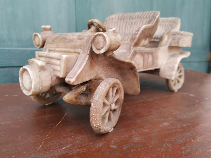 model car - Marble - Early 20th century