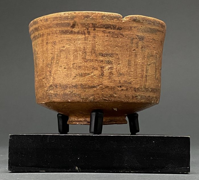 Indus Valley Terracotta Painted Bowl