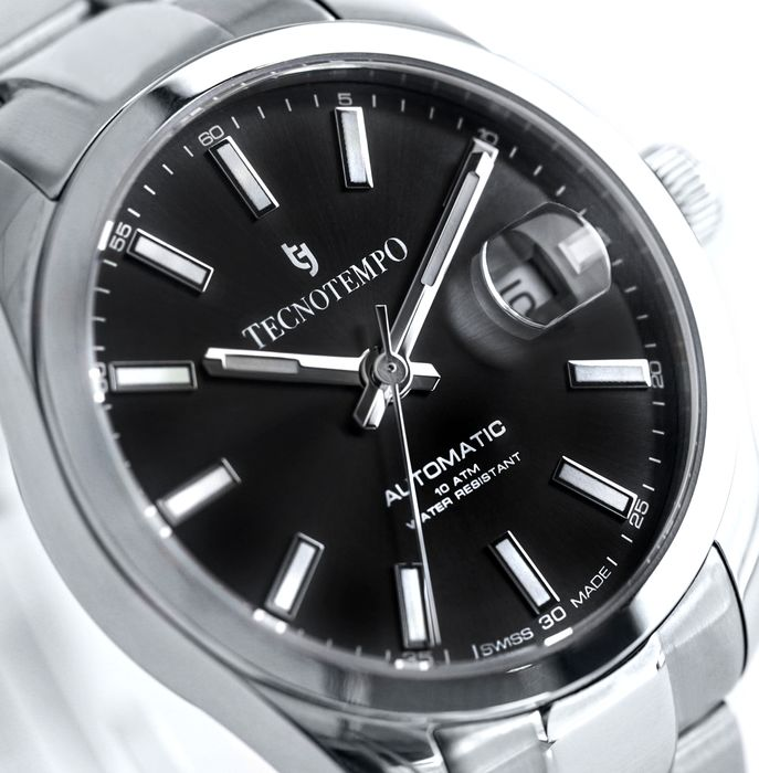 """Tecnotempo - """"NO RESERVE PRICE"""" - Swiss Made -  Limited Edition 500PCS - - TT.100.N (Black) - Uomo - 2021"""