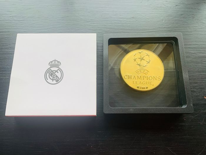 Real Madrid - Champions Football League - 2018 - Sports coins