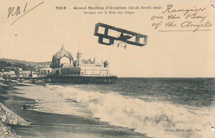 Aviation - Postcards (Group of 12) - 1910