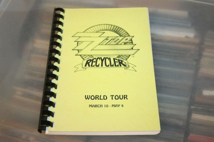 ZZ-Top - TOUR ITINERARY / USA Tour March to May - Offizielles Memorabilien-Werbeobjekt - 1991/1991