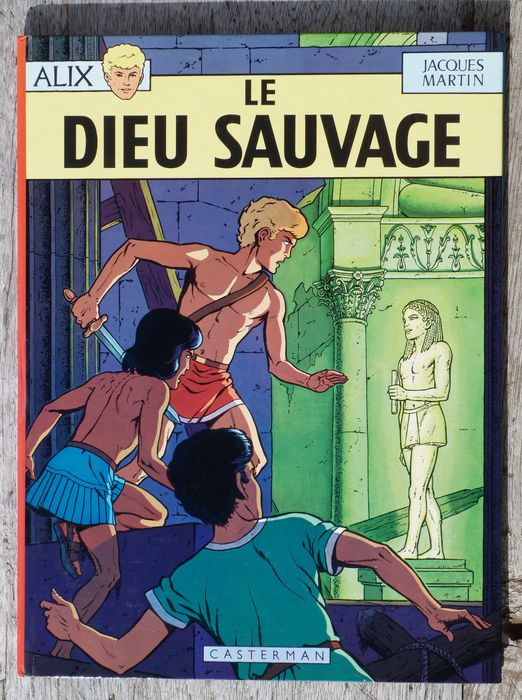 Alix T7 - Le Dieu sauvage - C - First edition - (1970)