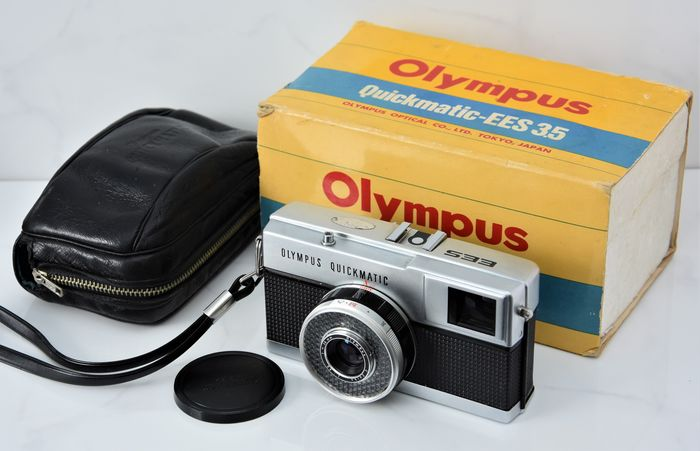 1970's  OLYMPUS Quickmatic-EES 3.5