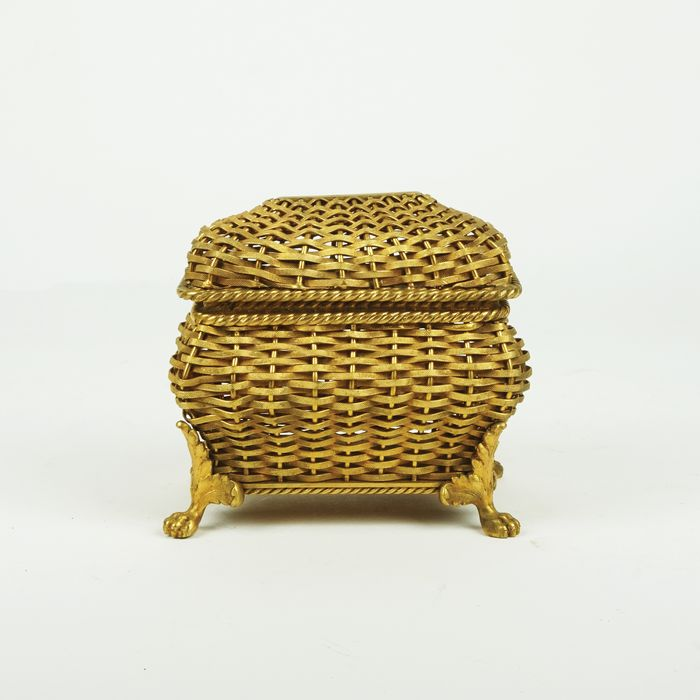Jewellery box - Neoclassical Style - Brass - Early 20th century