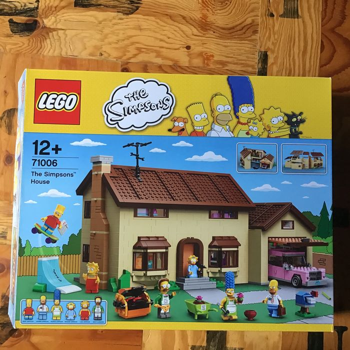 LEGO - Simpsons - 71006 - Simpsons House