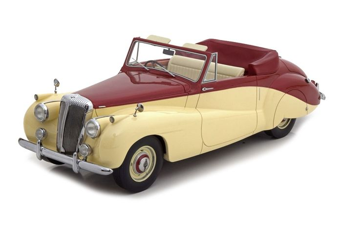 CMF - 1:18 - Daimler DB18 Special Sports Barker DHC 1952 - Limited Edition 300 PCS