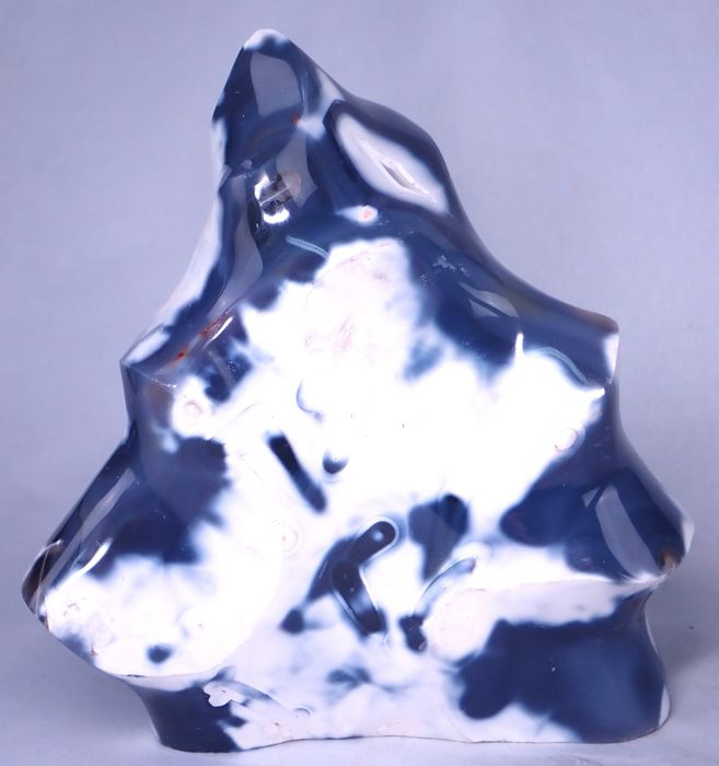 Rare Large Agate Flame - 160×150×85 mm - 1806.3 g