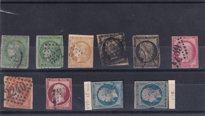 World 1849/1960 - France & Colonies, and rest of world - with some French, Belgium and Netherlands Classics