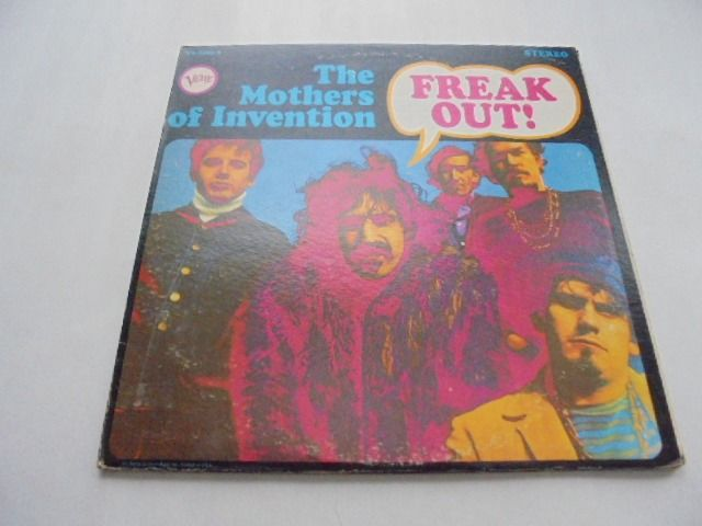 Frank Zappa (& The Mothers of Invention) - Freak out! - 2xLP Album (double album) - 1966/1966