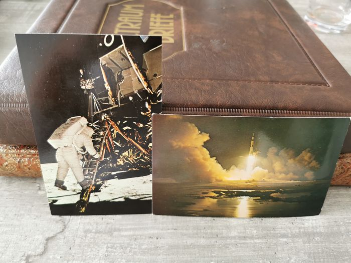 """Wereld 1930/2000 - Gorgeous """"Space Travel"""" lot with very beautiful cards and letters"""