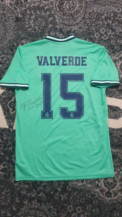 Real Madrid - Champions Football League - Fede Valverde - Jersey