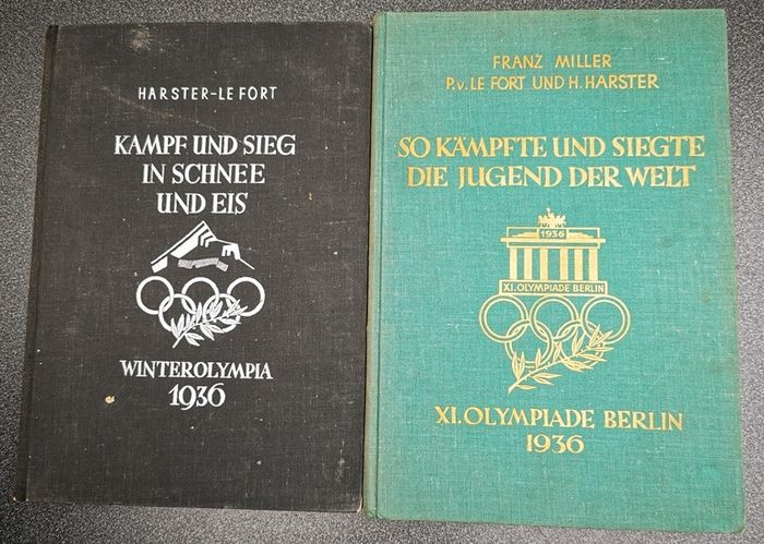 Olympia Team - XI.Olympiade Berlin 1936 Winter & Sommer Olympische Spiele - 1936 - Book