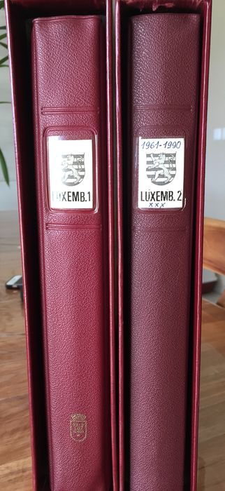Luxemburg 1852/1990 - A very advanced Luxembourg collection in 2 Lindner albums. - Yvert