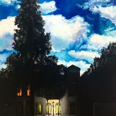 "Nush Menna - Tributo a R. Magritte ""Illusione"""