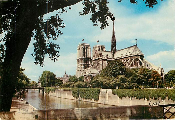 France - Paris and its surroundings - Postcards (Collection of 220) - 1960