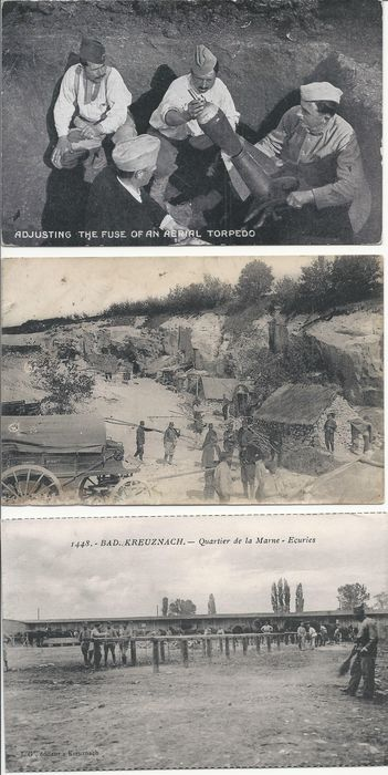 France - Military, World War 1 - Postcards (Collection of 80) - 1914-1918