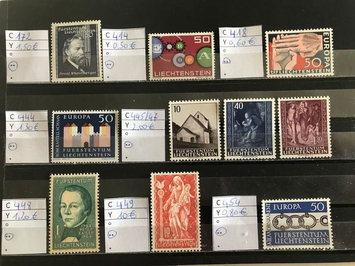 Mondo 1950/2000 - Collection of stamps and blocks - Michel