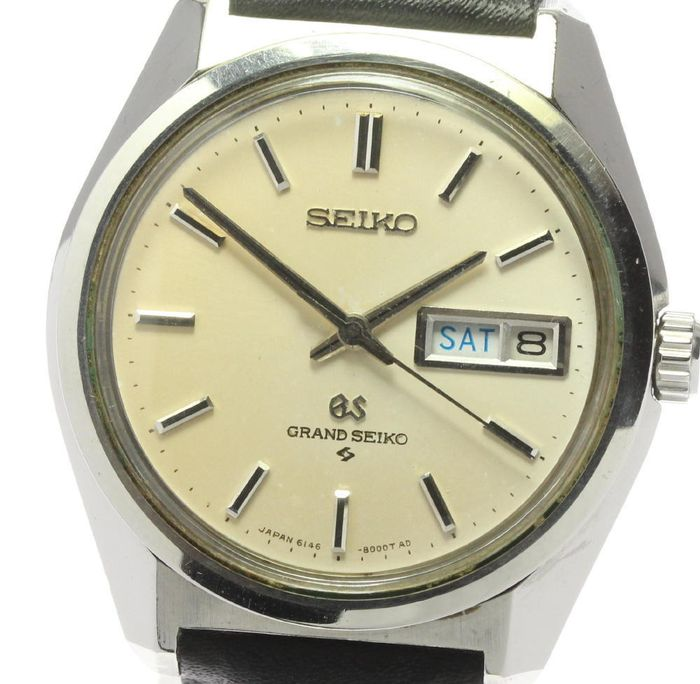 Grand Seiko - GS Rotor Early dial - 6146-8000 - Unisex - 1960-1969