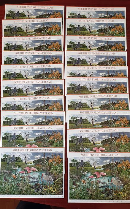 United States of America - Lot of stamps 1987/2008