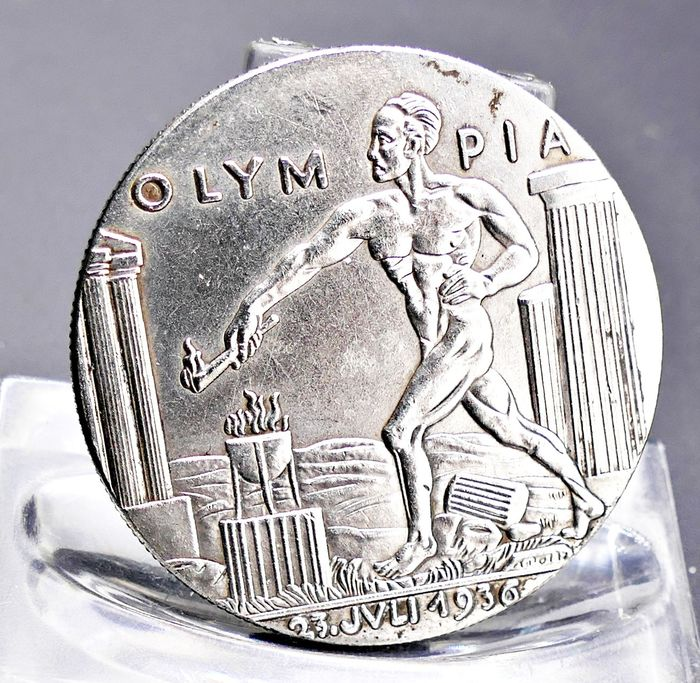 Olympic Games - 1936 - Silver Medal