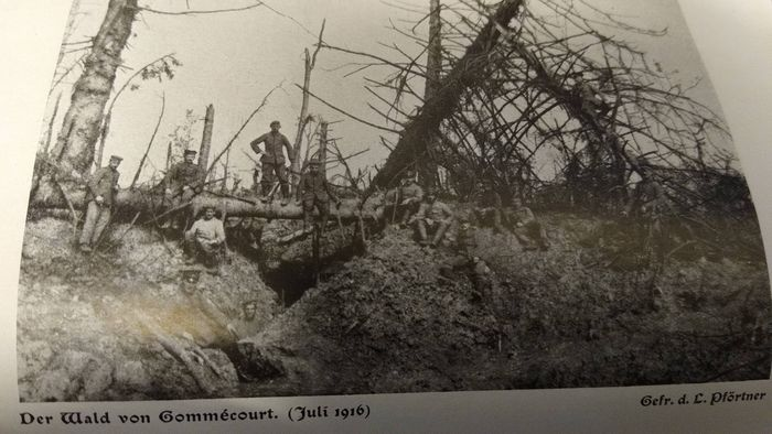 Germany - Book, On the Somme - 321 photos area Cambrai Abancourt Blairville Ligny - 1917