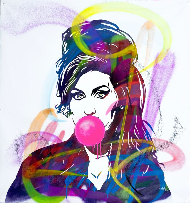 UTOPIA - Amy Winehouse with Bubble Gum