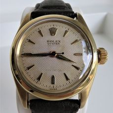 """Rolex - Oyster Speedking Precision """"Honeycomb-dial"""" - 6020 NO RESERVE PRICE - Unisex - 1960-1969"""