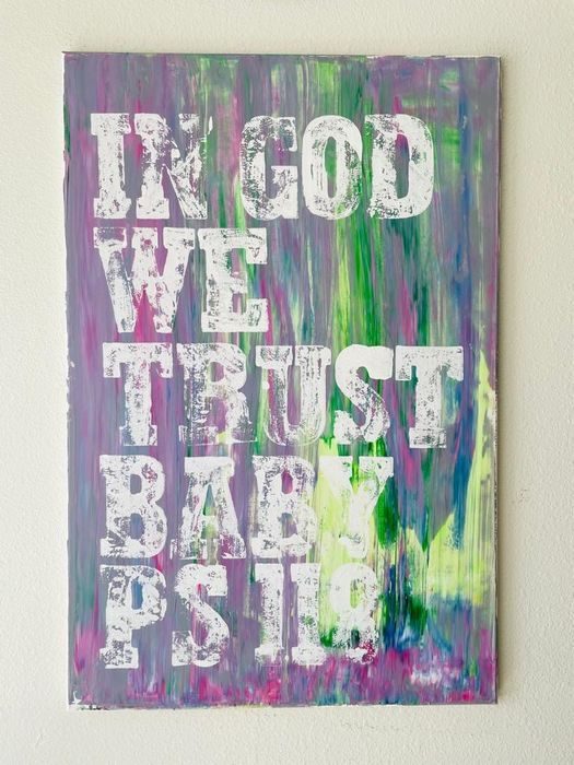 Karl Lagasse (1981) - IN GOD WE TRUST BABY PS 118 ( NO RÉSERVE PRICE  )