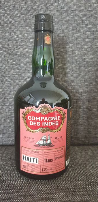 Barbancourt 2004 11 years old Compagnie des Indes - b. 2015 - 70cl