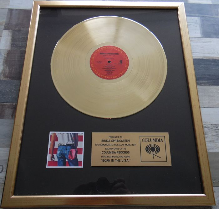 Bruce Springsteen - Born in The U.S.A. - to Bruce - Officieel in-House award - 1984/1984