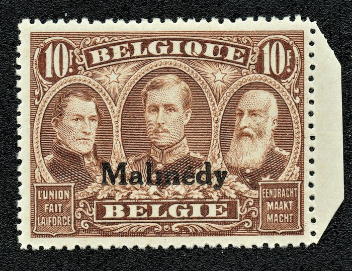 België 1920 - Occupation 'MALMEDY' - OBP / COB OC78