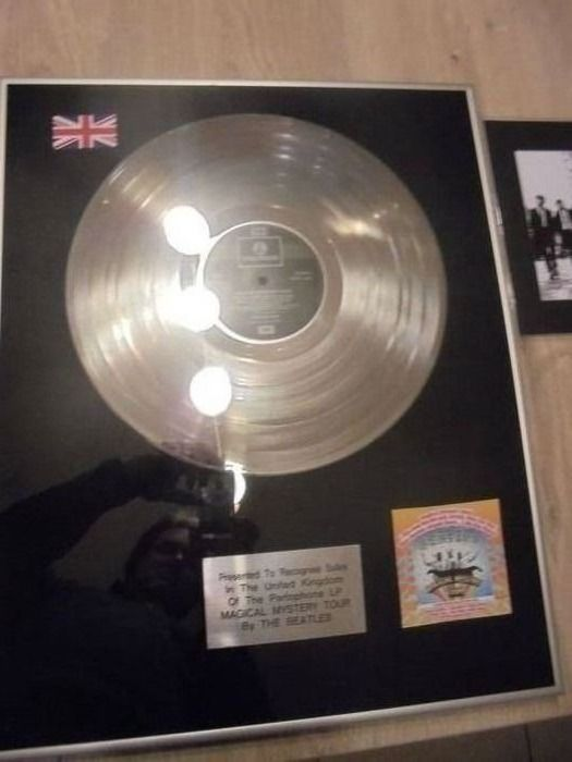 Beatles - The Magical Mystery Tour - Officieel in-House award - 1967