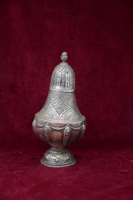Spice tower, Besamim tower - .900 silver - Italy - Early 20th century