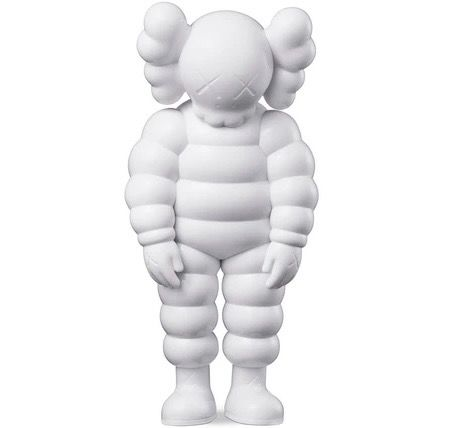 Kaws (1974) - What Party (White)
