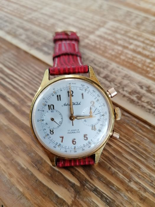 """Astree watch - chronograph - """"NO RESERVE PRICE"""" - Heren - 1990-1999"""