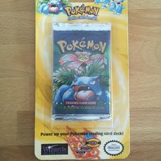 Wizards of The Coast - Pokémon - Pack Booster Venusaur Art- Shadowless Base Set Booster HEAVY - 1999