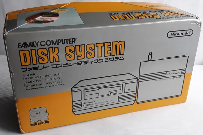 Nintendo Famicom Disk System with new belt, EU power supply and disk game - Hardware with game - In originele verpakking