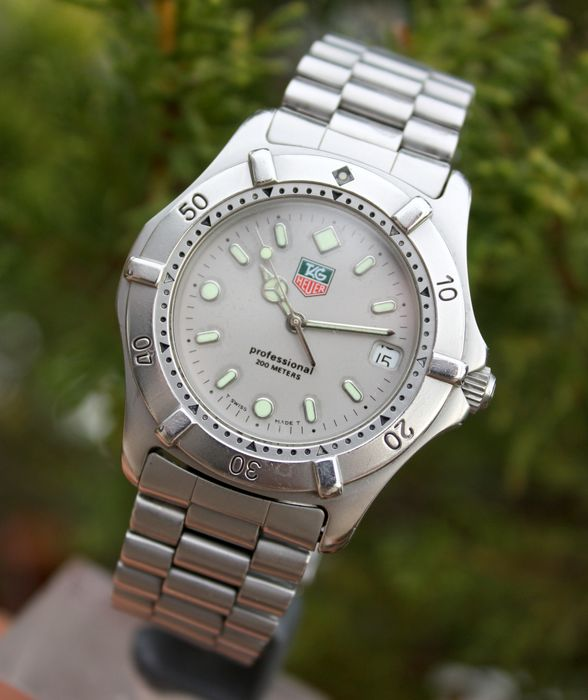 TAG Heuer - Professional 200m - WE 1111-R - Hombre - 1990-1999