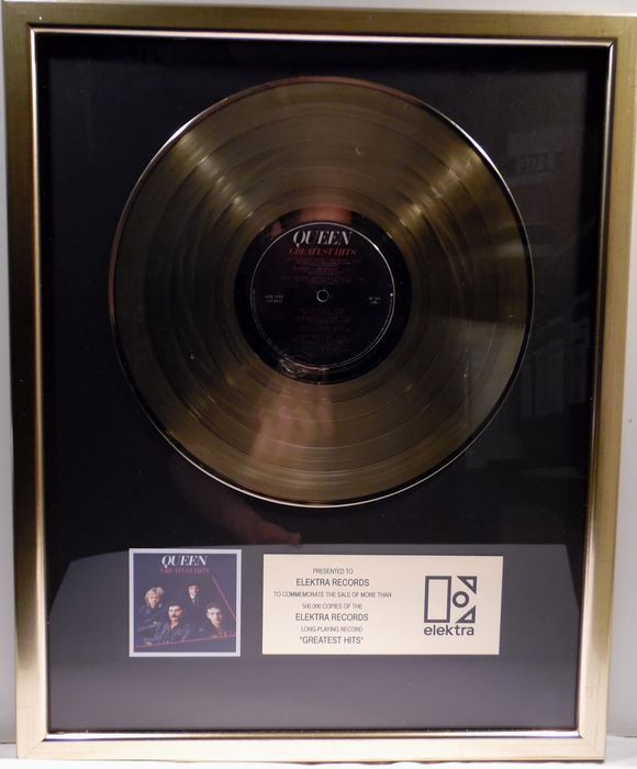 Queen - Greatest Hits - Officieel in-House award - 2020