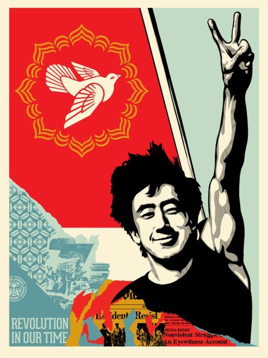 Shepard Fairey (OBEY) - Revolution In Our Time